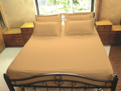 Hemlines Cotton Plain Double Bedsheet