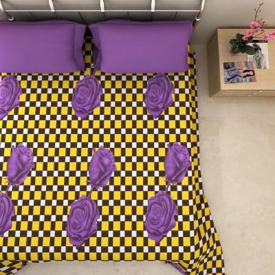 Artisan Cotton Printed Double Bedsheet