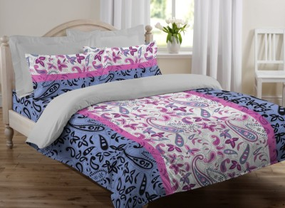 JCT Homes Cotton Floral Single Bedsheet