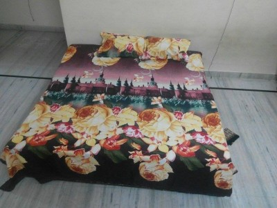 Agarwal Fashion Polycotton Printed Double Bedsheet