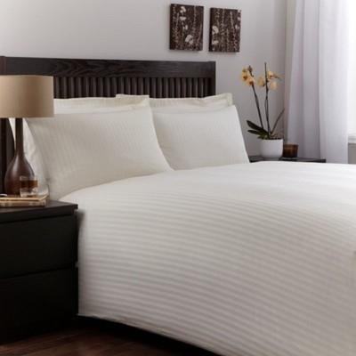 Paras enterprises Cotton Striped Double Bedsheet