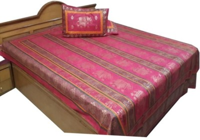 UFC Mart Cotton Abstract King sized Double Bedsheet
