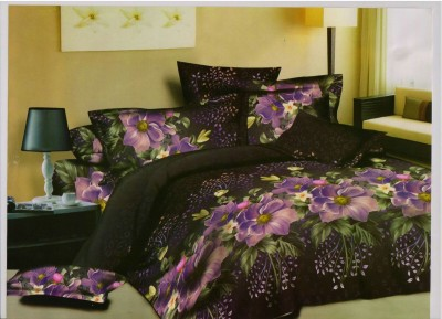 Exporthub Polycotton Floral Double Bedsheet