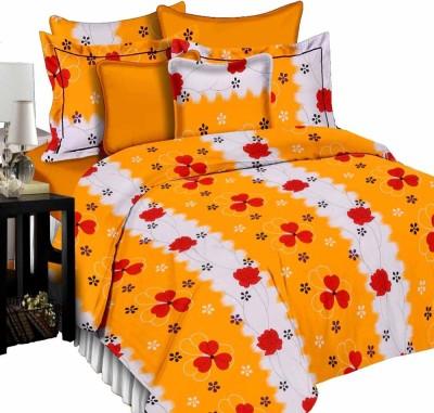 Shop Avenue Cotton Printed Queen sized Double Bedsheet