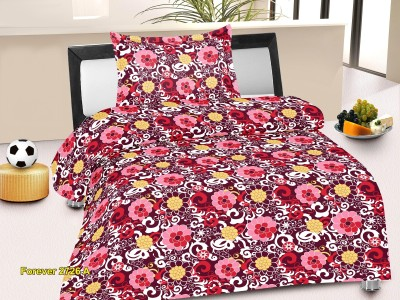 Nature Made Cotton Floral Single Bedsheet