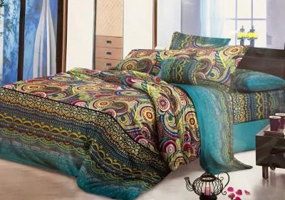 Dream Weaverz Polycotton Floral Double Bedsheet