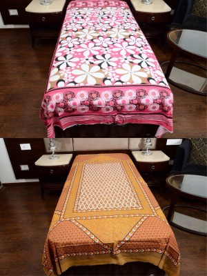 Shop jaipuri rajasthani Cotton Floral Single Bedsheet
