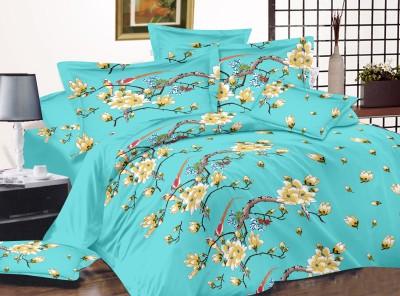 HIMALAYA-Glorious. Satin Printed Double Bedsheet