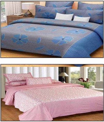 Divine Cotton Floral Double Bedsheet