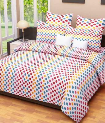 Handloom Times Cotton Geometric Double Bedsheet