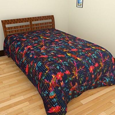 Rajkruti Cotton Floral Single Bedsheet