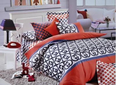 Shivalik Cotton Abstract Double Bedsheet