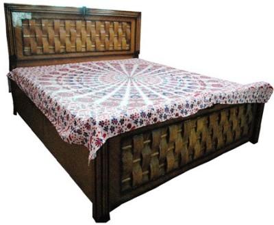 Baba Handicraft Cotton Abstract Double Bedsheet