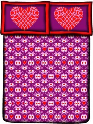 Royal Home Cotton Floral Double Bedsheet