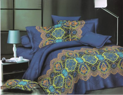 Skap Polycotton Abstract Double Bedsheet