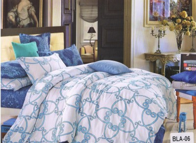 Welhouse India Cotton Abstract Double Bedsheet