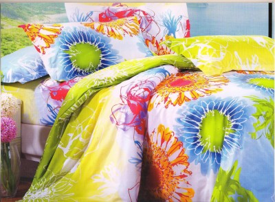 Melody Cotton Printed Double Bedsheet
