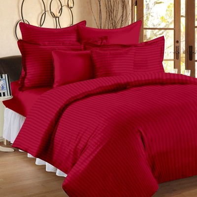 Craftola Cotton Striped Double Bedsheet