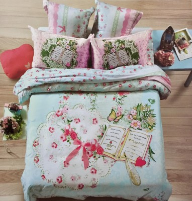 Fashion Cotton Floral King sized Double Bedsheet