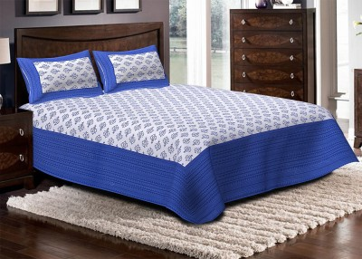Renown Cotton Abstract Double Bedsheet