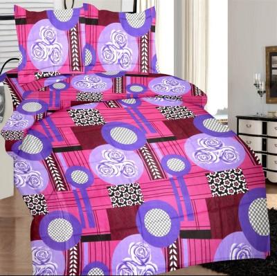 Prisha Cotton Floral Double Bedsheet