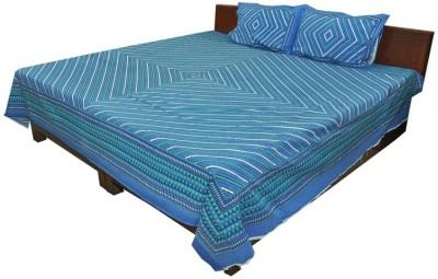 Shop Rajasthan Cotton Geometric Double Bedsheet