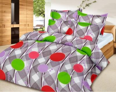 El Sandalo Polycotton Abstract Double Bedsheet