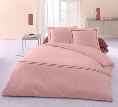 Raymond Home Cotton Plain Double Bedsheet