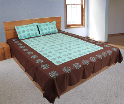 Pioneer Calicos Cotton Printed Single Bedsheet