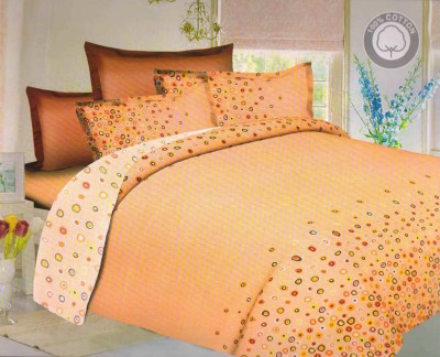 Solly Cotton Printed Double Bedsheet