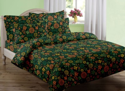 Swaas Cotton Printed King sized Double Bedsheet