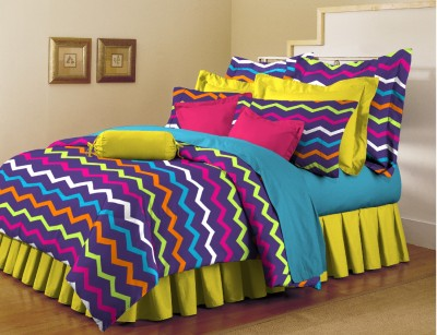 Arto Cotton Abstract Single Bedsheet