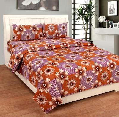 Bed & Bath Cotton Floral Single Bedsheet