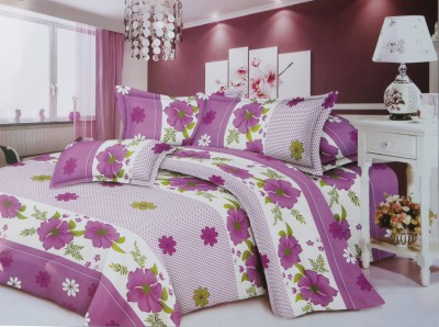 Urban Style Polycotton Floral Double Bedsheet