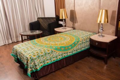 Shreeng Cotton Animal Single Bedsheet