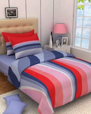 Zyne Cotton Abstract Double Bedsheet