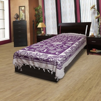 Adithya Cotton Floral Single Bedsheet