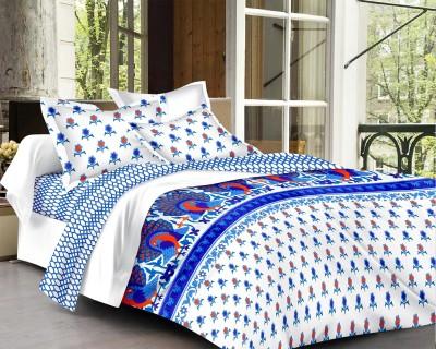 D&D Cotton Printed Double Bedsheet