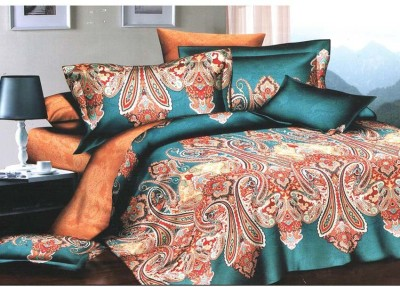 PROFTO Polyester Printed Double Bedsheet