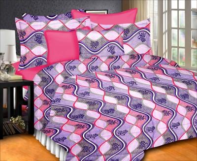 Prisha Cotton Printed Double Bedsheet