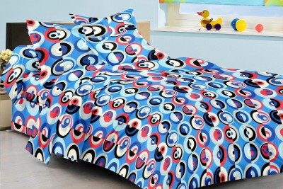 Metro Living Cotton Geometric Double Bedsheet