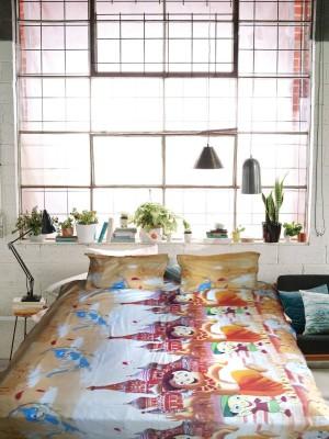 Zeupic Polycotton Animal Double Bedsheet