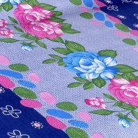 Cortina Cotton Floral Double Bedsheet(1 Double Bed Sheet, 2 Pillow Covers, Multicolor)