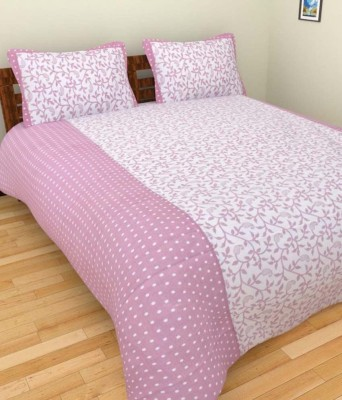 Ridhaan Polycotton Floral Double Bedsheet