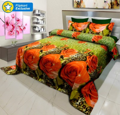 Signature Polycotton Motifs King sized Double Bedsheet