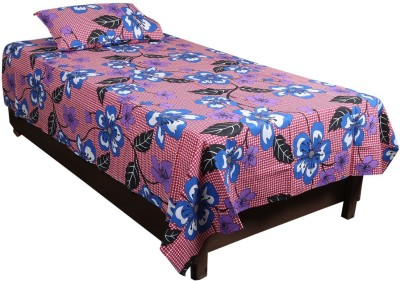 Nitin traders Cotton Printed Single Bedsheet