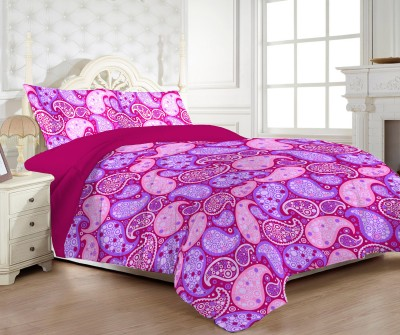 Bed Story Cotton Geometric Double Bedsheet