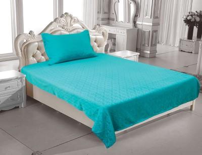 Elan Cotton Geometric Single Bedsheet