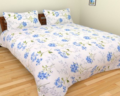 Kanak Cotton Floral Double Bedsheet