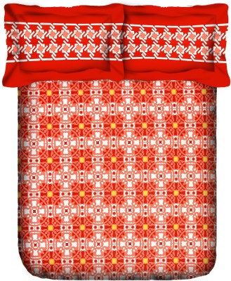 Stellar Home USA by Portico Cotton Abstract Double Bedsheet